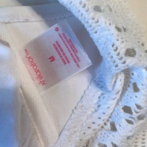Xhilaration Swim - Xhilaration Size Md. all white bathing suit top